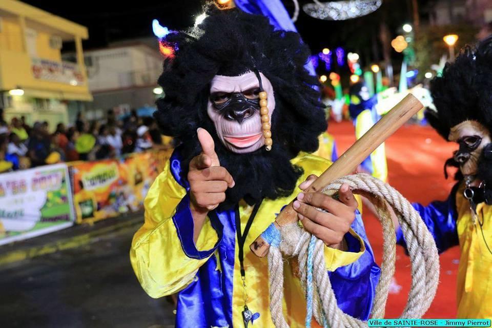 Le Carnaval de Guadeloupe est l'une desfêtesles plus populaires de l'île.