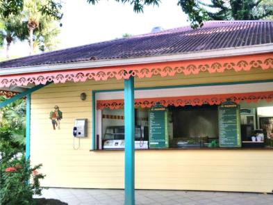 Snack du jardin botanique de deshaies