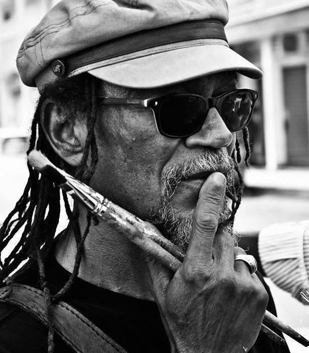 Mr Joël Nankin, Artiste Peintre, Musicien engagé de Guadeloupe