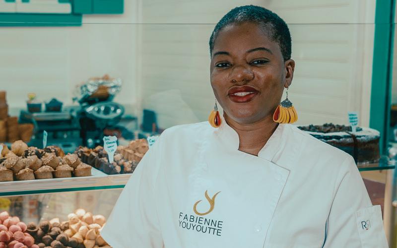Fabienne Youyoute, Glacier, Patissier, Confiseur, Chocolatier de Guadeloupe, Artisan de l'année 2019