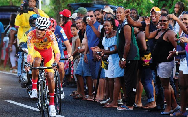 Tour de la Guadeloupe Boris Carène